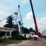 15 circuitos sin energía este domingo en Barranquilla por cambio de torres de alta tensión