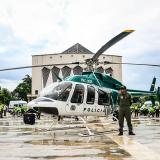 El 'halcón verde' que vigila Barranquilla