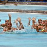 Colombia se despide a lo grande en el nado sincronizado