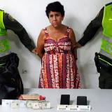 La capturada Olga Eslava Fuentes de 58 años.