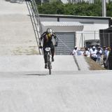 Diego Arboleda, oro en contrarreloj individual del Bicicross masculino