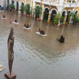 Inundaciones en Cartagena luego de tres horas de lluvias
