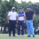 Quintero no cede en la 'Copa Manuel De la Rosa' de golf