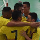Futsal de oro para Colombia en los bolivarianos
