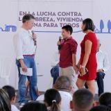Encuentro del presidente Santos con Jesús Pedroza.