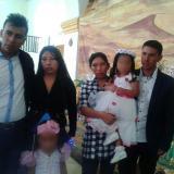 Esta es la familia Samoní Muñoz, los padres, la hermanita y los tíos de la niña Yuliana Samboní, asesinada en Bogotá.