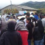 Familiares y vecinos de la familia Samboní acudieron a la misa por el primer año del asesinato de Yuliana Samboní.