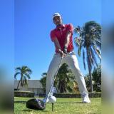 La joya colombiana del golf jugará en el campo del Caujaral