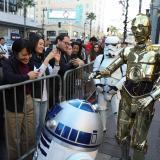 """""""Star Wars"""" bate récord en su estreno en EEUU: USD 45 millones de recaudos"""