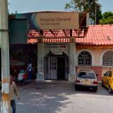 Los presuntos delincuentes fueron trasladados al Hospital General de Barranquilla.