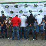 Capturadas ocho personas que se hacían pasar como miembros de la Sijín
