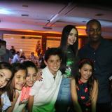 Sofía Carson pasa Navidad en Barranquilla y  comparte con Édgar Rentería