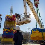 Israel buscan batir record con torre de 36 metros construida con fichas de Lego