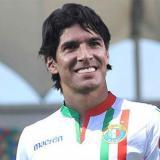 Sebastián Abreu fue presentado este miércoles como nuevo jugador de Audax Italiano.