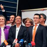 Se rompió coalición de izquierda de Petro, López y Caicedo