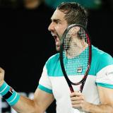Cilic espera a Federer o Chung en final del Abierto de Australia