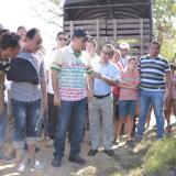 Turbay firma acta de inicio de obras en el puente de Las Delicias-Cantagallo