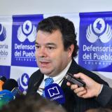 Defensor del Pueblo respaldó suspensión de la mesa de Quito