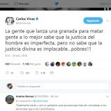 Famosos condenan ataques terroristas en la Costa
