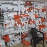 En una vivienda ubicada en el barrio Chiquinquirá se elaboraban los libros.