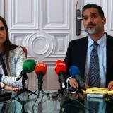 Tamara Suju y Juan Carlos Gutiérrez