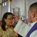 Los católicos de Sucre preservan la tradición de la cruz de ceniza