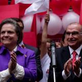 De la Calle y López, la primera fórmula presidencial en inscribirse