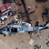 Las 14 personas que sobrevivieron al sismo y murieron a los pocos minutos tras caer helicóptero en México