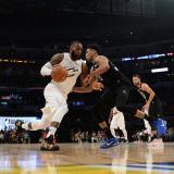 El equipo de LeBron derrota al de Curry en el Juego de Estrellas