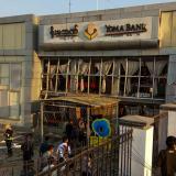 Bomba en un banco de Birmania deja dos muertos