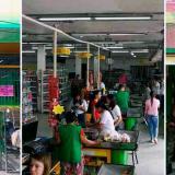 Algunos de los supermercados en Bogotá y municipios de Cundinamarca incautados por la Fiscalía.