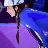 La colombiana Laura Gómez en los Juegos Olímpicos de Invierno.