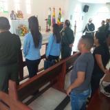 Eucaristía por víctimas de los atentados terroristas de San José y Soledad 2000