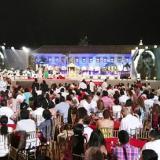 Gala de la premiación en Cartagena el año pasado.