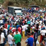 Estalla artefacto explosivo en cierre de campaña en Antioquia: nueve heridos