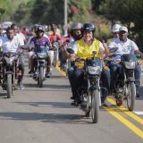 Inauguran oficialmente en Bolívar vía de Palenque