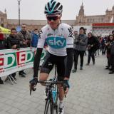 El ciclista británico Chris Fromme en competencia.