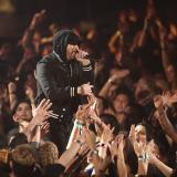 Eminem se presentó en la gala de los premios musicales iHeartRadio.