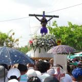 Una multitud acompañó al Milagroso de la Villa en Sucre