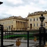 Fachada del Palacio de Nariño, lugar de residencia del futuro presidente de la República.