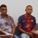 Roger José Ojeda Cabrera y Anderson David Cruz Padilla