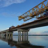 Hoy unen el viaducto, pero será inaugurado a mediados de año