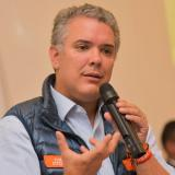 Iván Duque, candidato presidencial.