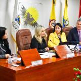 Gobernación del Atlántico participó en foro de Parlamento Andino