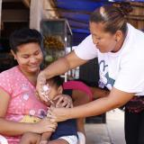 Jornada de vacunación en Bolívar.