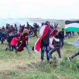 Violentos choques con ejército israelí en Gaza: mueren 16 palestinos