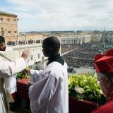 """Papa ora por una salida """"justa, pacífica y humana"""" a la crisis venezolana"""