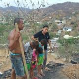 Joven quema la casa a su padre,  tras una discusión