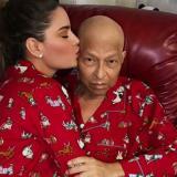 Ariadna junto a su padre Wilson Gutiérrez.