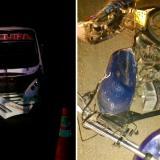 Iban sin luz en moto, chocan contra un bus y mueren en Córdoba